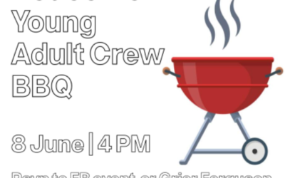 Redeemer Young Adult Crew Gathers for BBQ