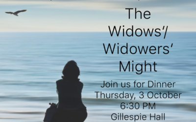 The Widows'/Widowers' Might: A Dinner