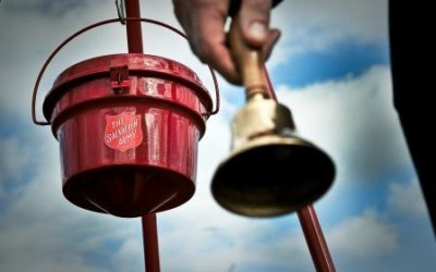 It's Salvation Army Bell Ringing time