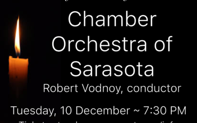 Redeemer's Great Music Series presents the Chamber Orchestra of Sarasota