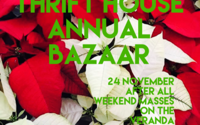 Don't miss the annual ECW Bazaar at Redeemer!