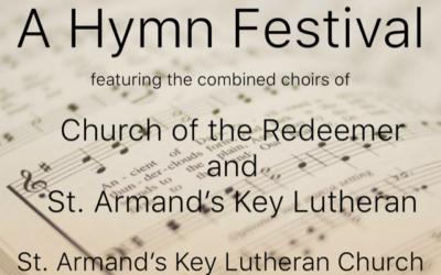 "Redeemer's Great Music Series offers ""Hymn Festival"""