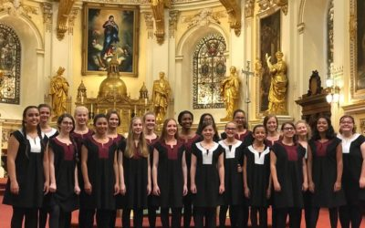 Solemn Evensong this Sunday with guest choir, The Sarasota Young Voices
