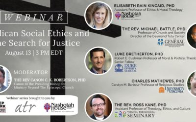 Anglican Social Ethics and the Search for Justice: A Webinar