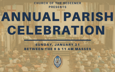Celebrate!  Annual Parish Celebration 2021